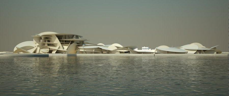 Jean Nouvel: Qatar National Museum - Photo by Atelier Jean Nouvel.