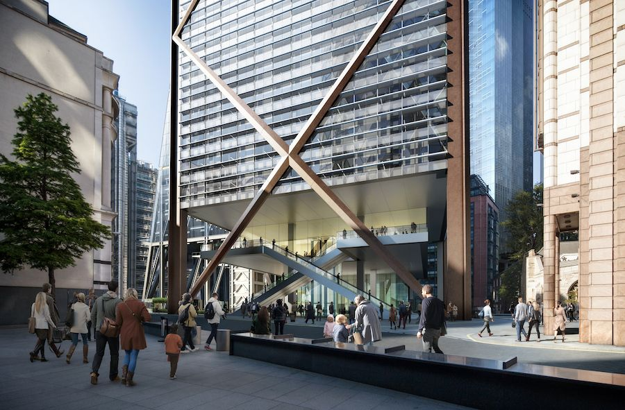 1 Undershaft by Eric Parry Architects - Courtesy of ric Parry Architects.