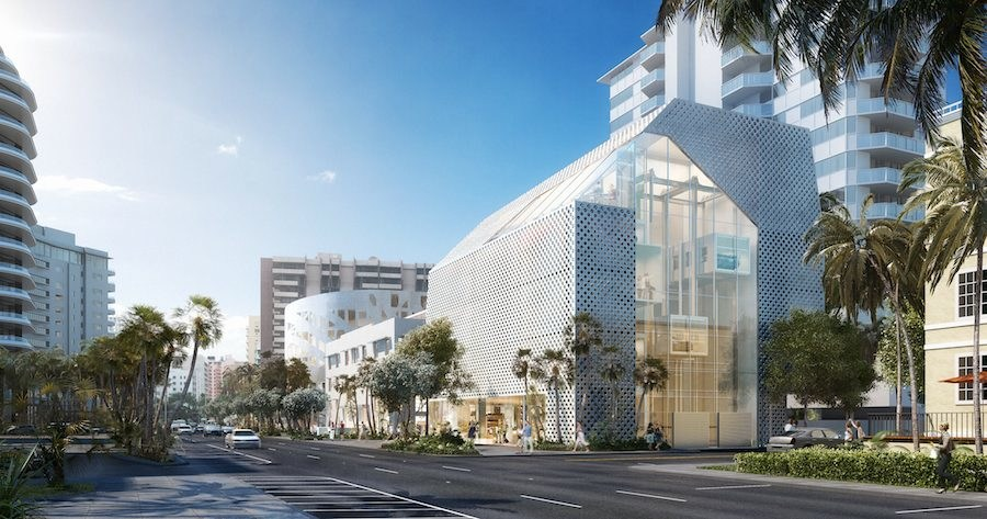 Faena Arts Center + Parking. Image by xbox, courtesy of OMA.