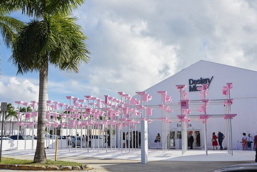 UNBUILT Pavilion - Photo by James Harris, courtesy of DesignMiami/.