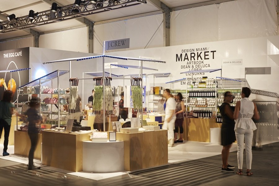 Dean & Deluca @ DesignMiami/ Market - Photo by James Harris, courtesy of Charlap Hyman & Herrero.