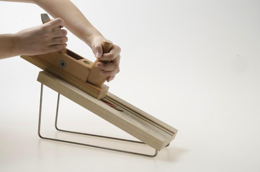 """Plane pencil""by Maria Girofletti."