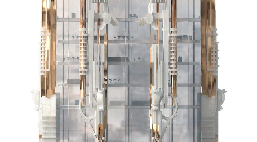 Mark Forster Gage Architects' proposal for 41 West 57th Street New York