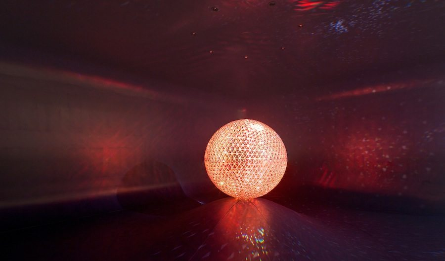 Swarovski: EL SOL Design Miami photo by Robin Hill . Courtesy of Swarovski.
