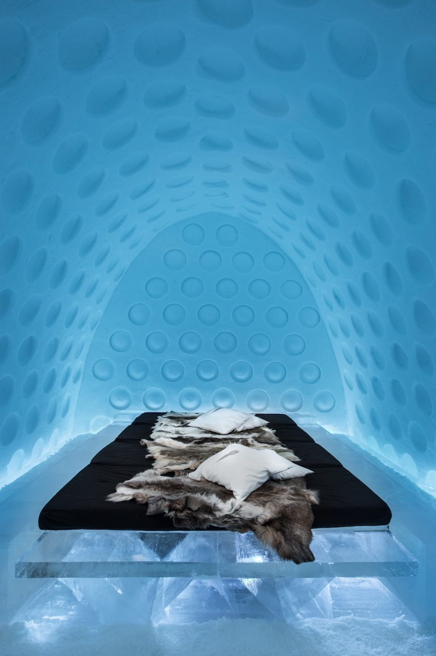 """Under the Arctic Skin"" suite. Design by Rob Harding and Timsam Harding. Photo by Asaf Kliger."