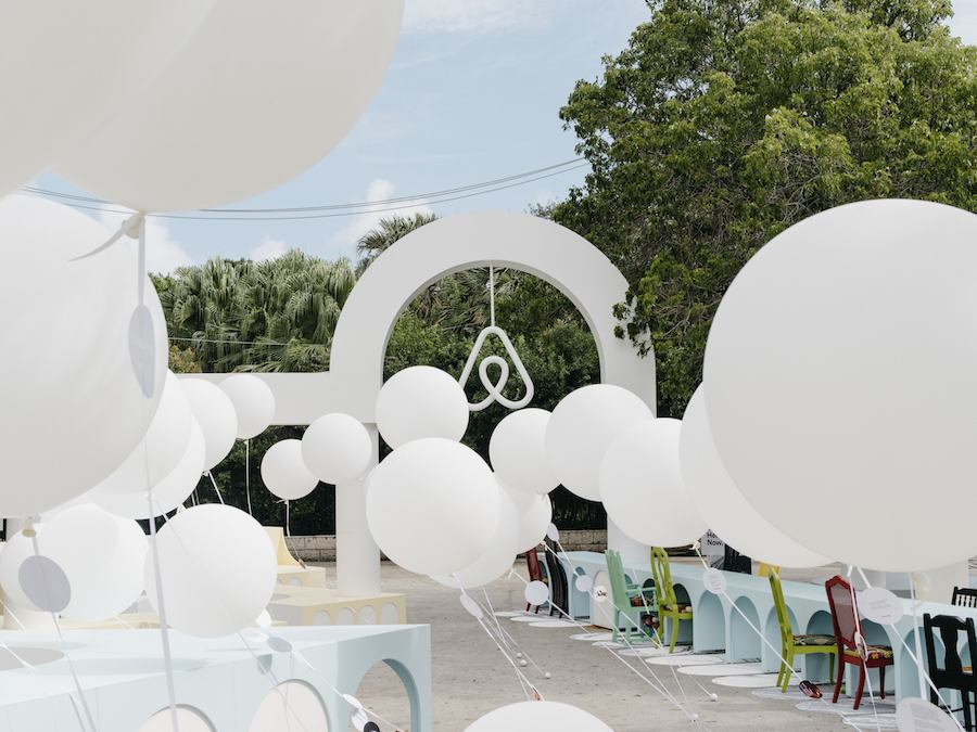 Airbnb's Belong. Here. Now. for Design Miami/