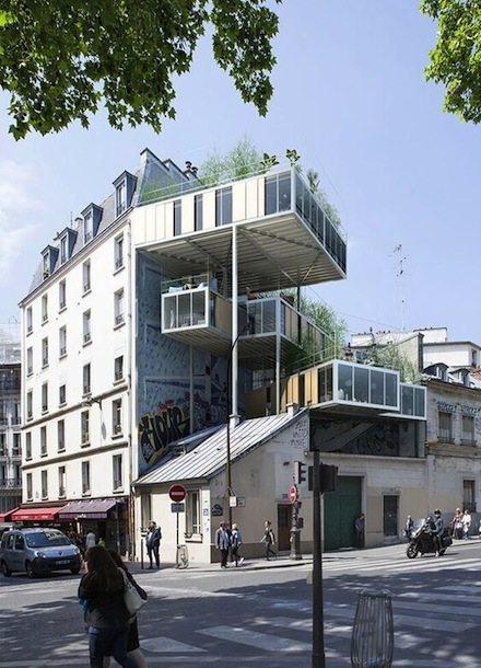 3BOX: Paris green housing