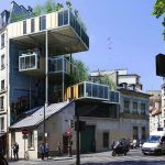 3BOX Paris green housing by Stephan Malka