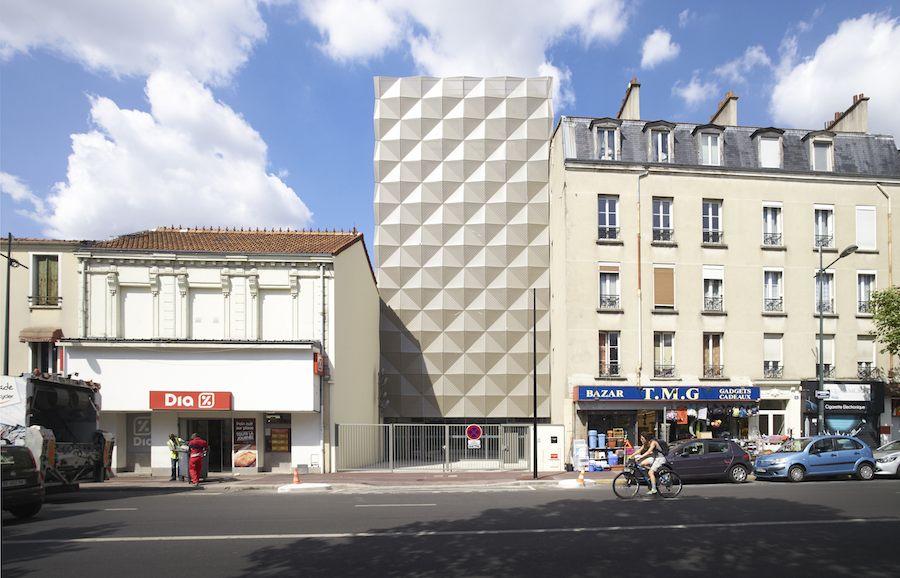 Parisian dance school Aurélie-Dupont by Lankry Architectes - Photos: courtesy of Lankry Architectes.