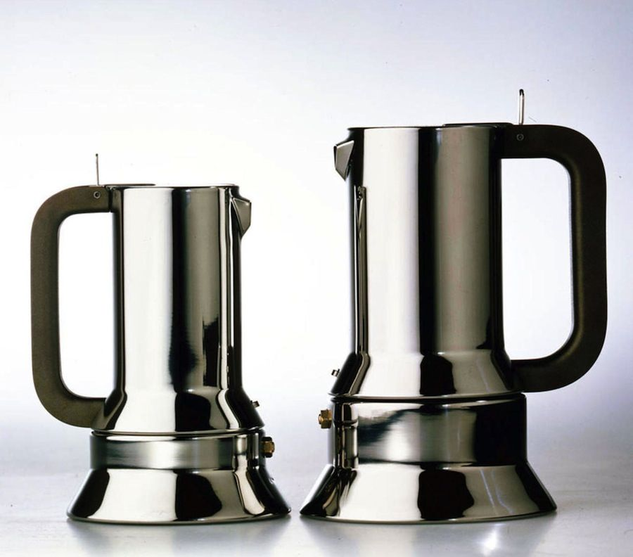 Richard Sapper: 9090 Expresso Coffe Maker for Alessi - 1979.