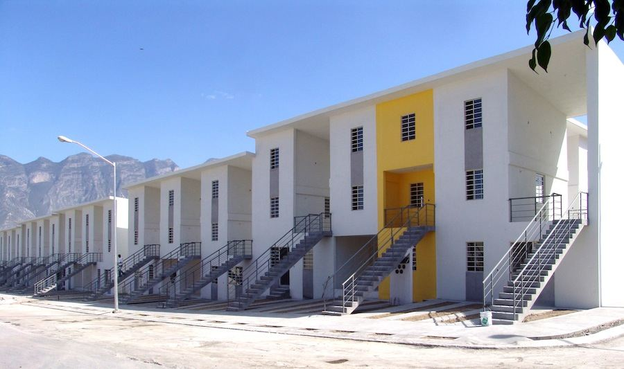 Aravena/Elemental: Monterrey Housing, 2010, Monterrey, Mexico - Photo by Ramiro Ramirez.