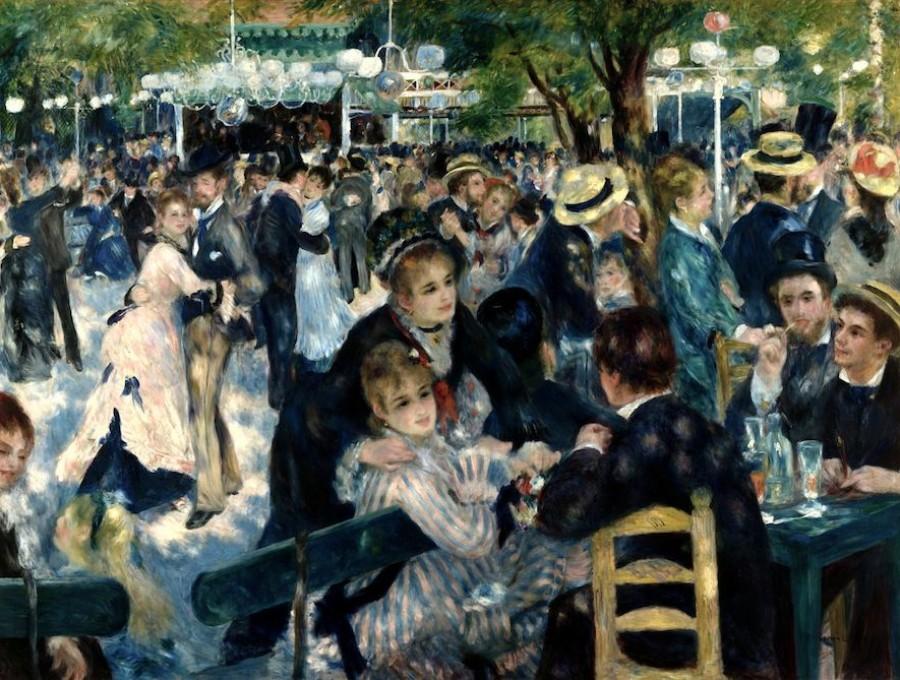 August Renoir: Bal du Moulin de la Galette
