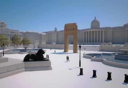 Palmira Arch replicas