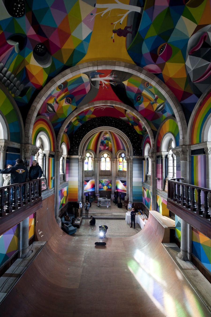 Kaos Temple skate church
