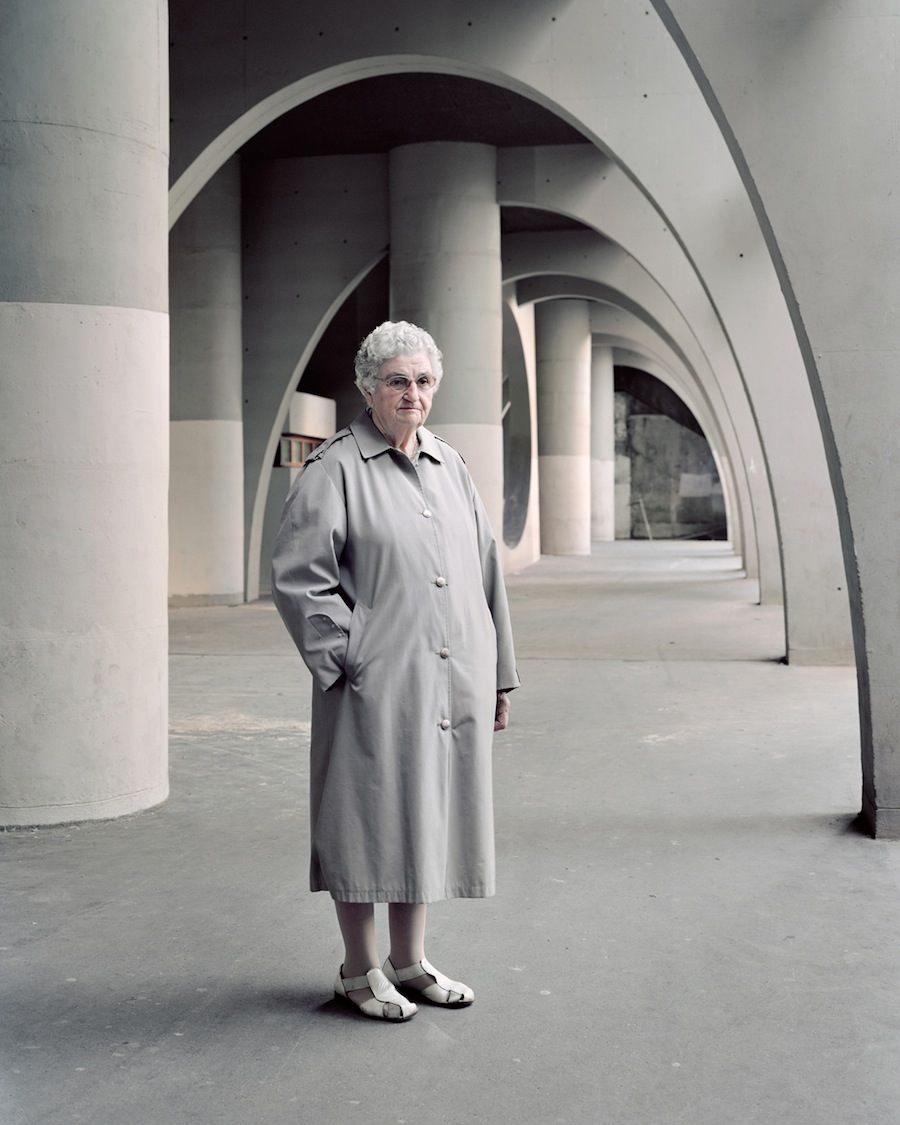 Denise, 81, Cité Spinoza, Ivry-sur-Seine, 2015.