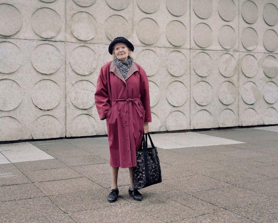 Paulette, 83, Les Damiers, Courbevoie, 2015.