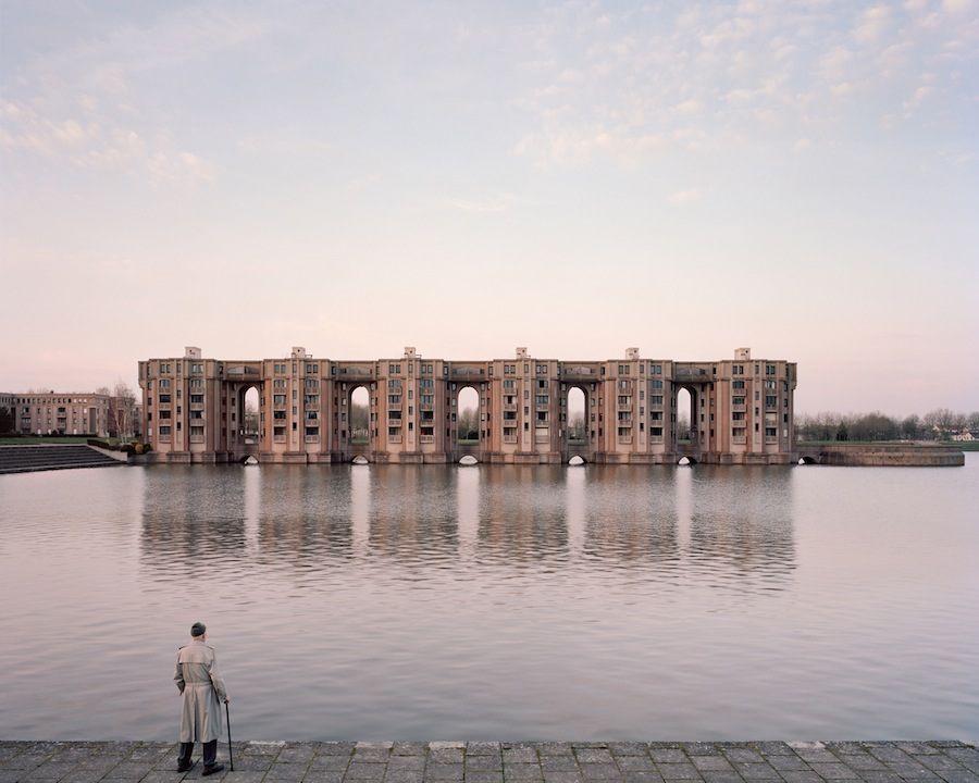 Souvenir d'un Futur: Jacques, 82, Le Viaduc et les Arcades du Lac, Montigny-le-Bretonneux, 2015 - All Photos by Laurent Kronental.