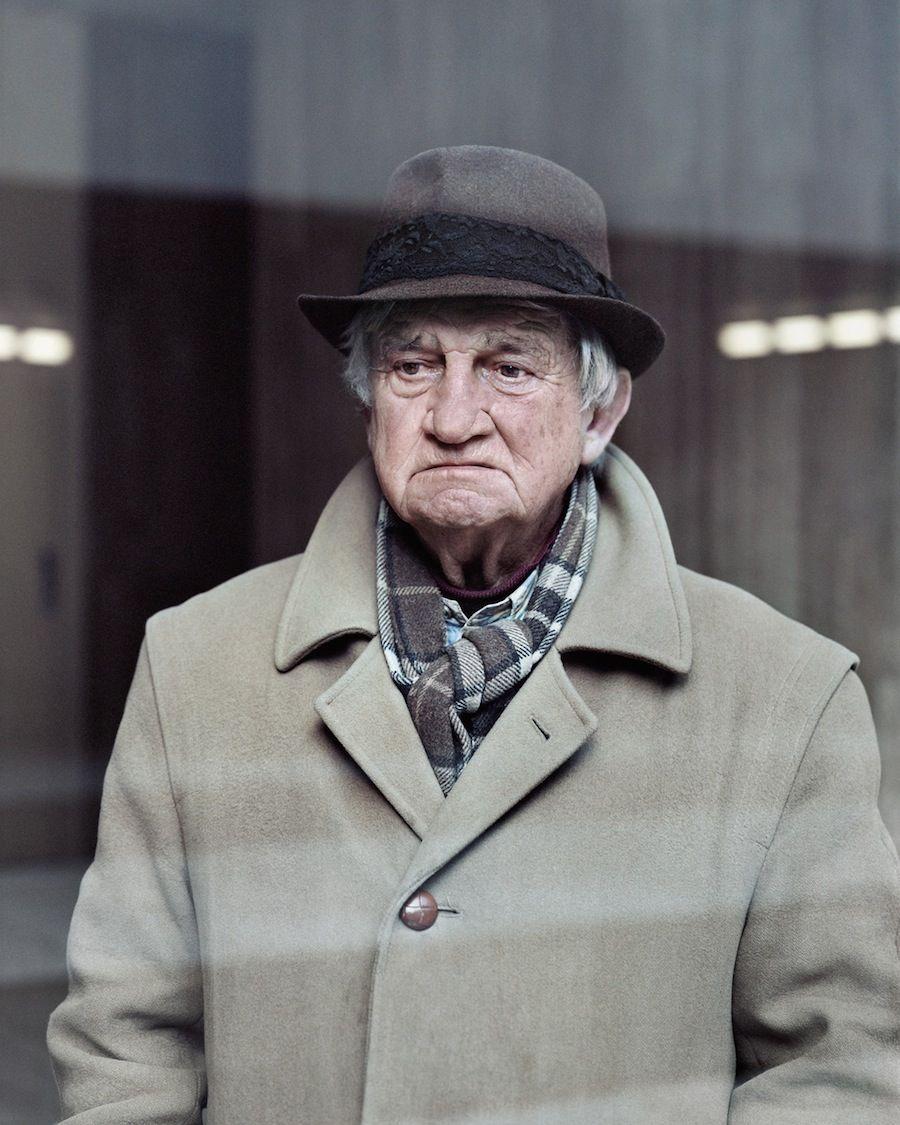 Alain, 80, Les Damiers, Courbevoie, 2013.