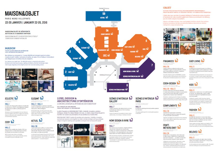 Maison & Objet Map - Click to Download.