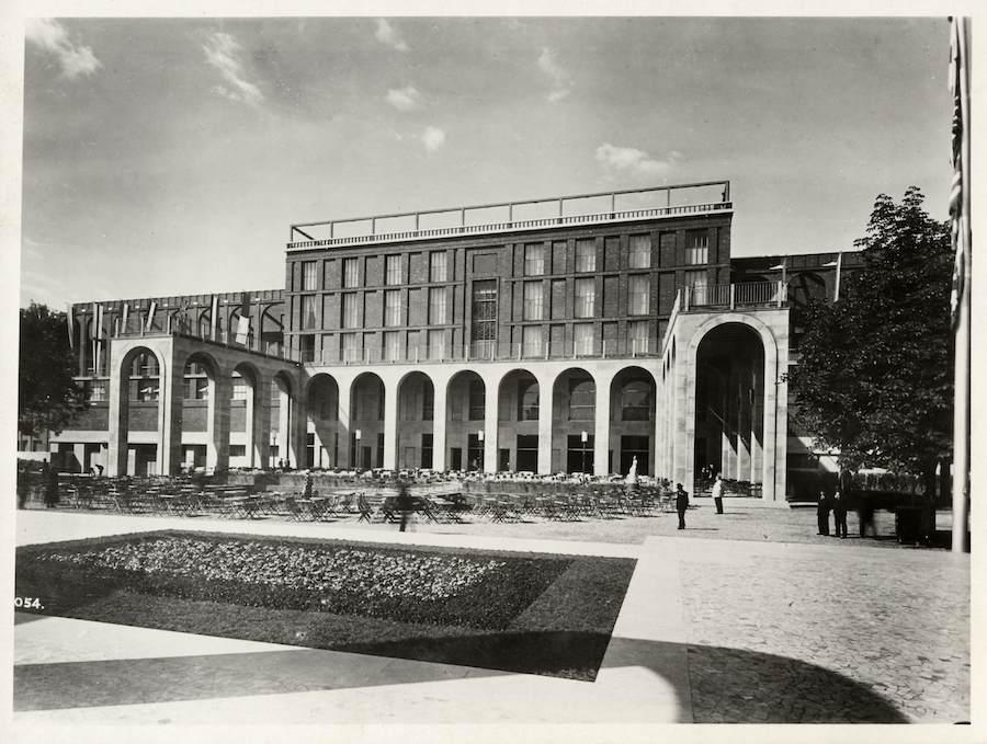 Milan Triennale in 1933 - Photo by Triennale.