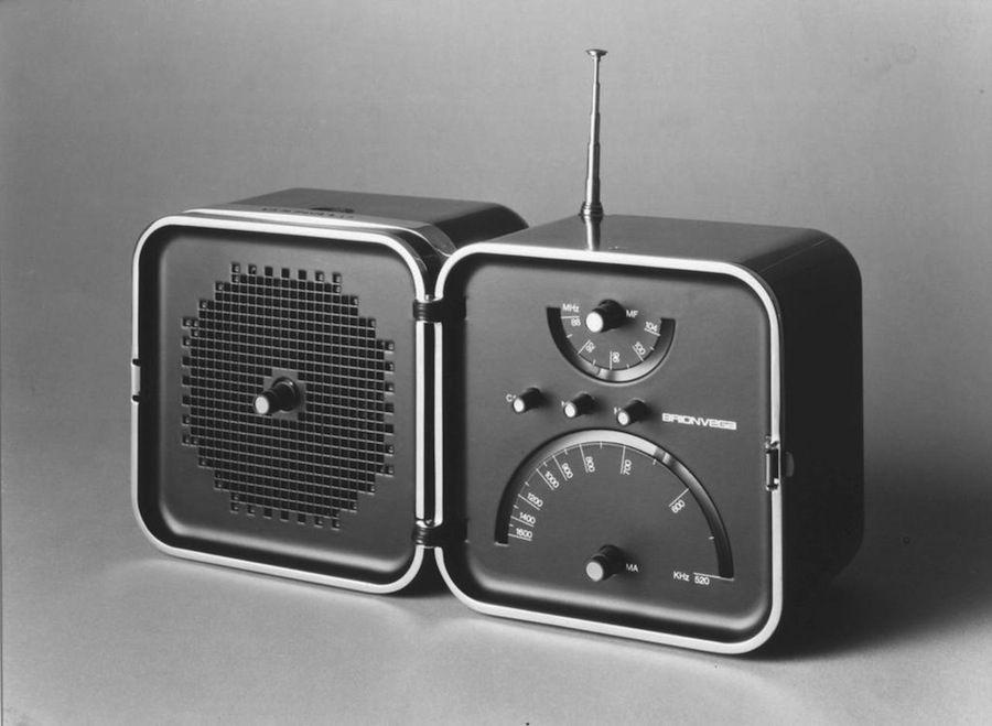 Richard Sapper: TS 502 Brionvega, 1963.