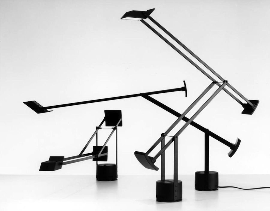 Richard Sapper: Tizio lamp for Artemide, 1972.