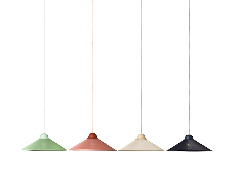 PETITE FRITURE: AURA pendant lamp, design by Tomas Kral - All photos: courtesy of PETITE FRITURE.