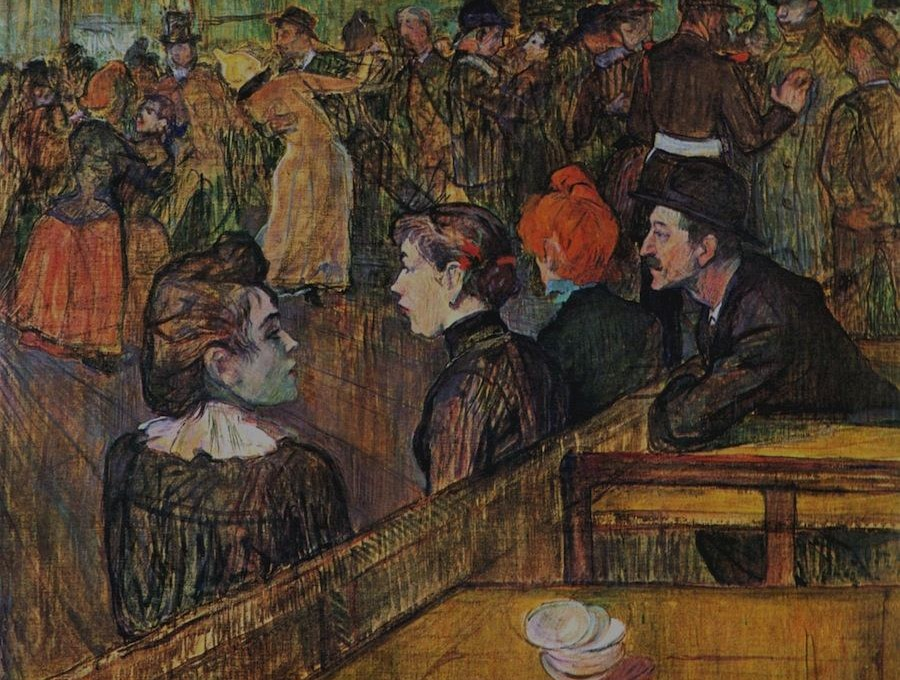Henry de Toulouse-Lautrec: Mouline de la Galette
