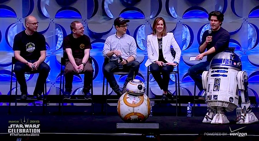 BB-8 debut at Star Wars Celebration - Click on the frame to watch the video posted by Inside the Magic.