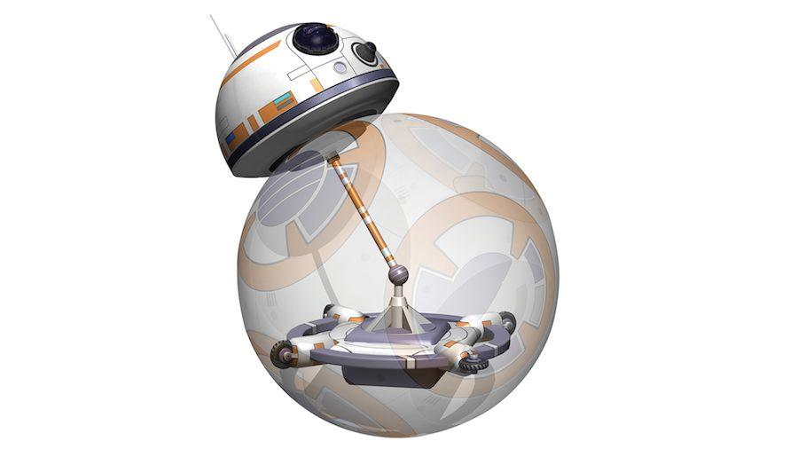 BB-8 design hypotesis I - Courtesy of Carlos Sánchez and Emilio Gelardo.