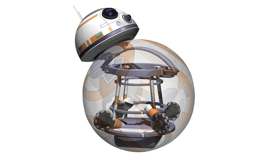 BB-8 design - Courtesy of Carlos Sánchez and Emilio Gelardo.