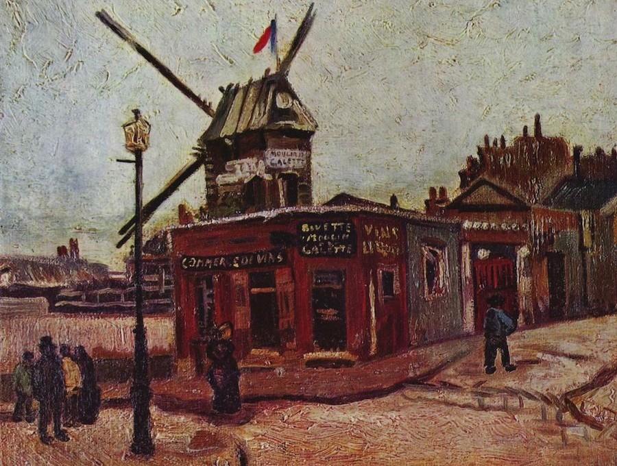 Van Gogh: Moulin de La Galette