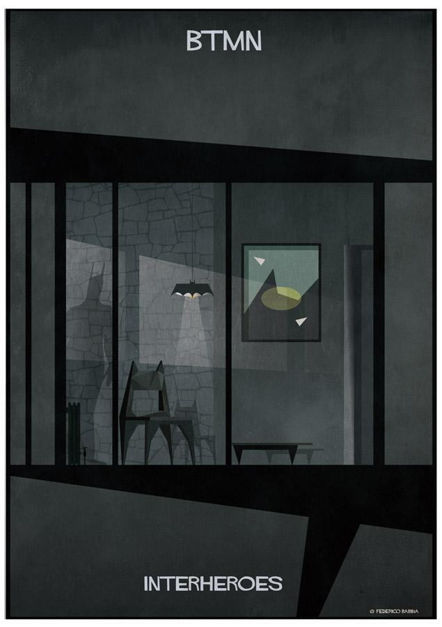 Federico Babina: INTERHEROES, Batman - Images by Federco Babina.