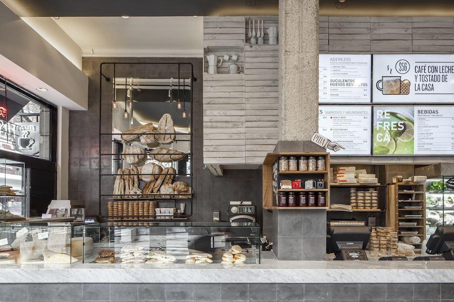 The Tostado Coffee Club by Hitzig Militello Arquitectos - Photo by Federico Kulekdjian.