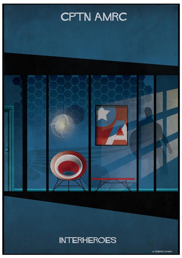 Federico Babina: INTERHEROES - Captain America