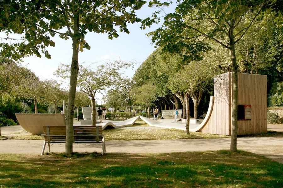 Agence Studio 1984 - La Roche-sur-Yon skate park. Courtesy of Villa Noailles.