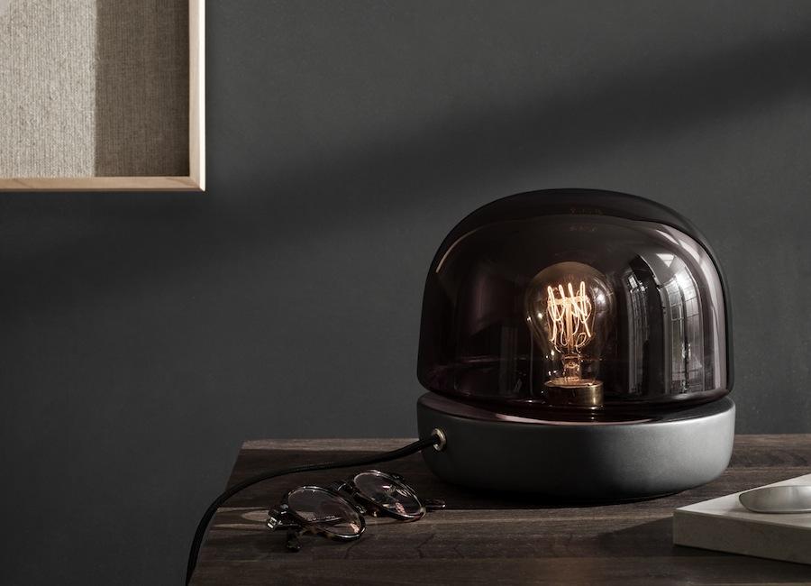 MENU A/S: Stone lamp.