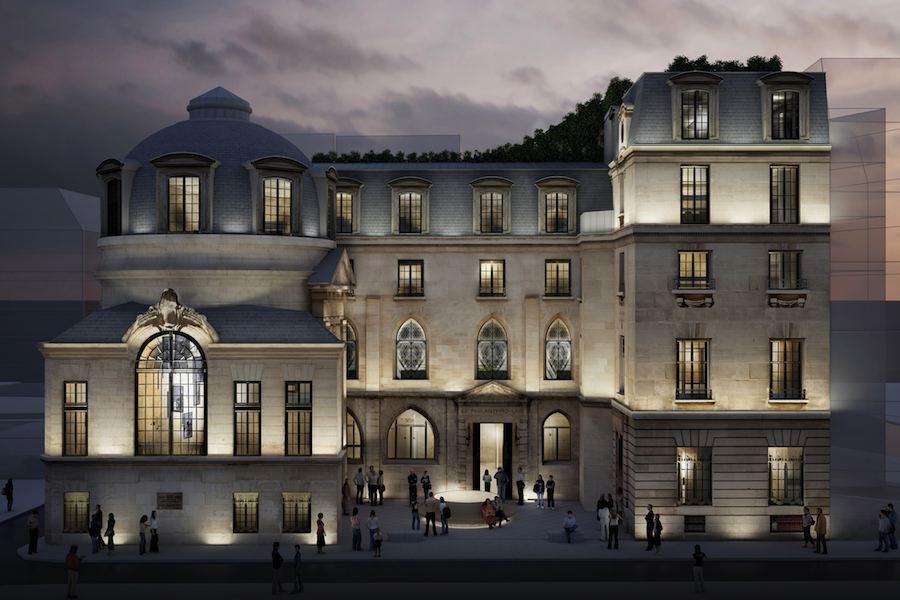 Perrot & Richard, Hotel Particulier (V Arrondissement) - Photo: Courtesy of Reinveter.Paris.