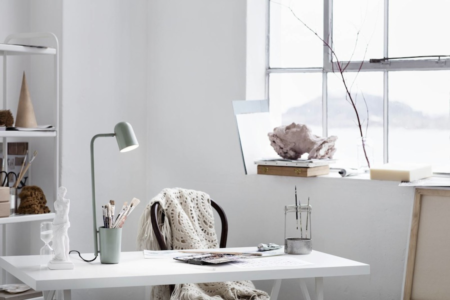 Northern Lighting: BUDDY table lamp, design by Søren Sætter-Lassen - Photo by Chris Tonnesen, courtesy of Northern Lighting.
