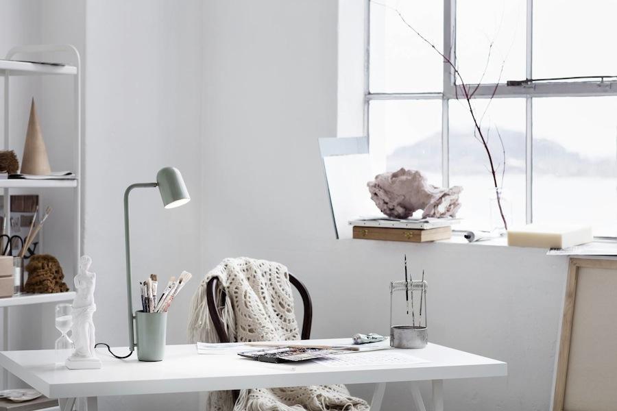 Northern Lighting: BUDDY table lamp, design by Søren Sætter-Lassen - Photo by Chris Tonnesen, courtesy of Northern Lighting.