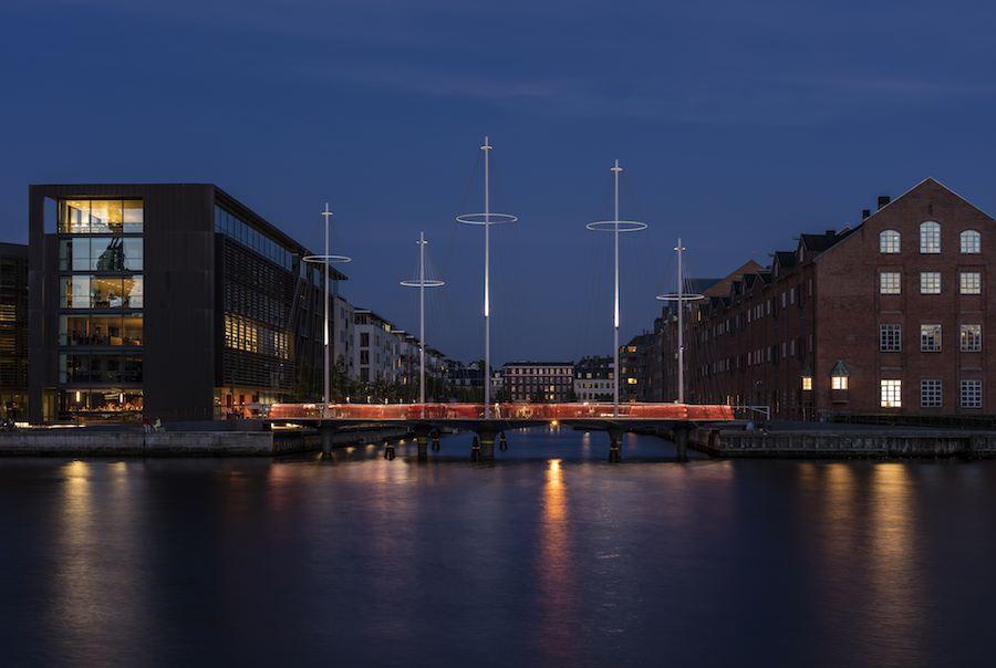 Cirkelbroen, Copenhagen - ©Olafur Eliasson, photo by Anders Sune Berg.