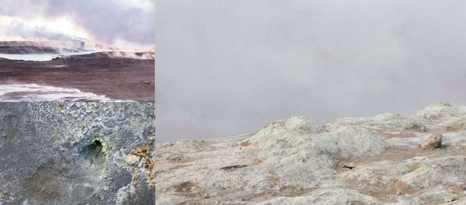 Icelandic Sulphureal Landscapes - Photos by Garðar Eyjólfsson.