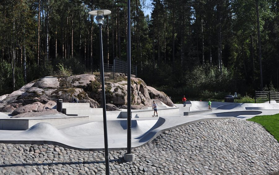 Janne Saario - Olari skate park in Espoo, Finland - Courtesy of Villa Noailles.