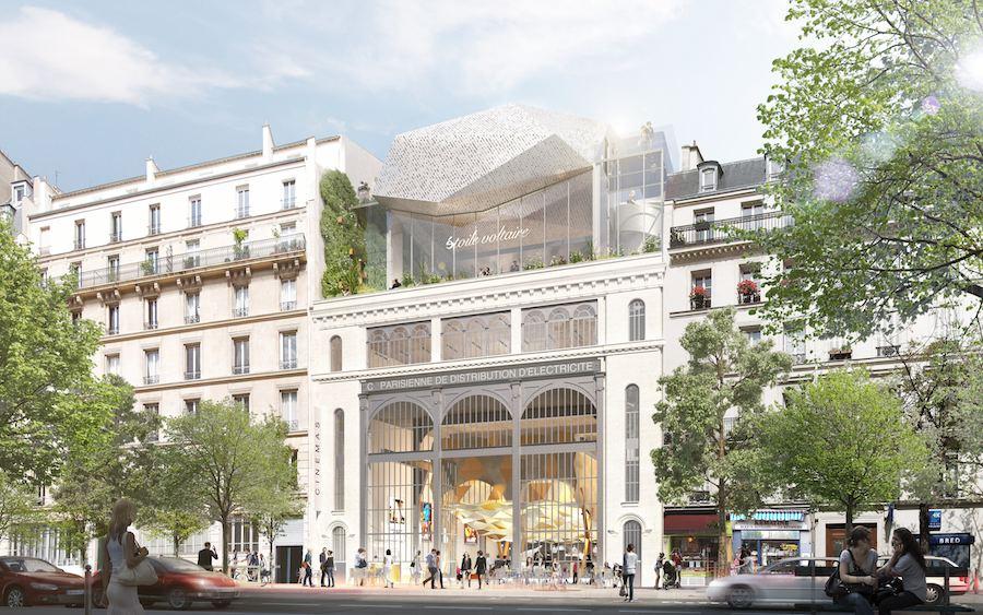 Olivier Palatre Architectes: Sous Station Voltaire - Photo: Courtesy of Reinveter.Paris.