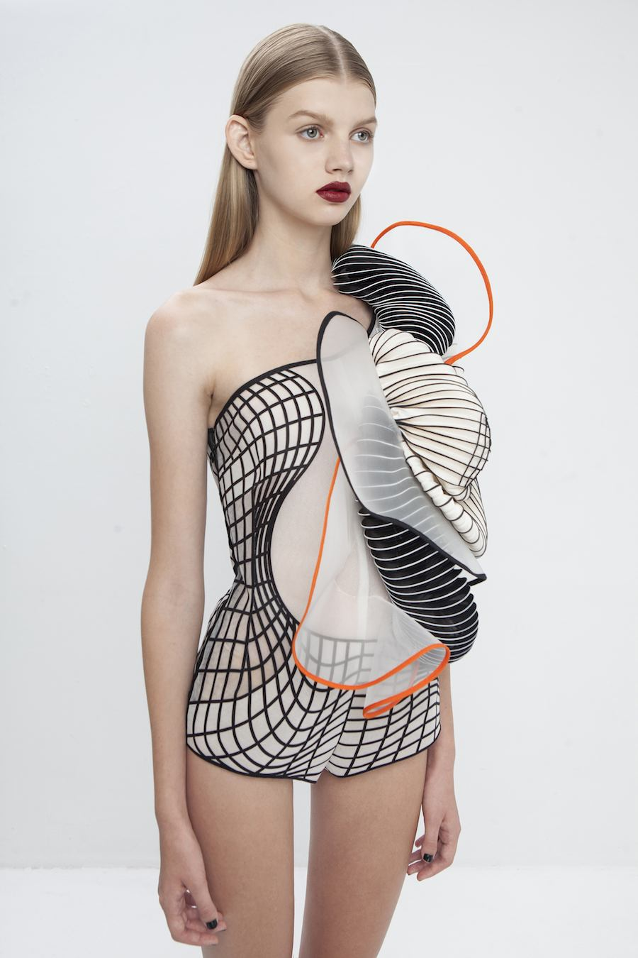 Bodysuit from Hard Copy collection by Noa Raviv - All photos: courtesy of Museum of Fine Arts, Boston.