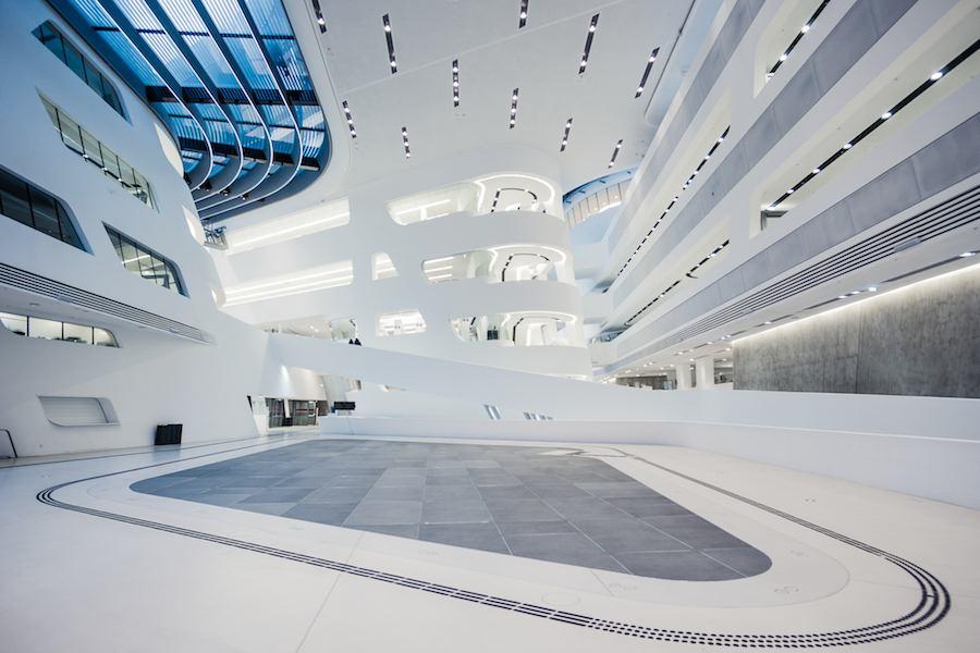 Zaha Hadid - Wirtschaftsuniversität Wien