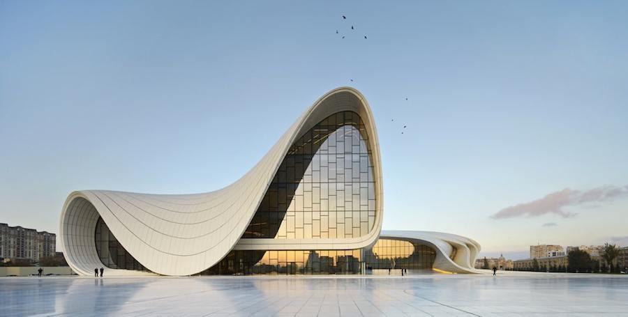 Zaha Hadid - Heydar Aliyev Center, Baku