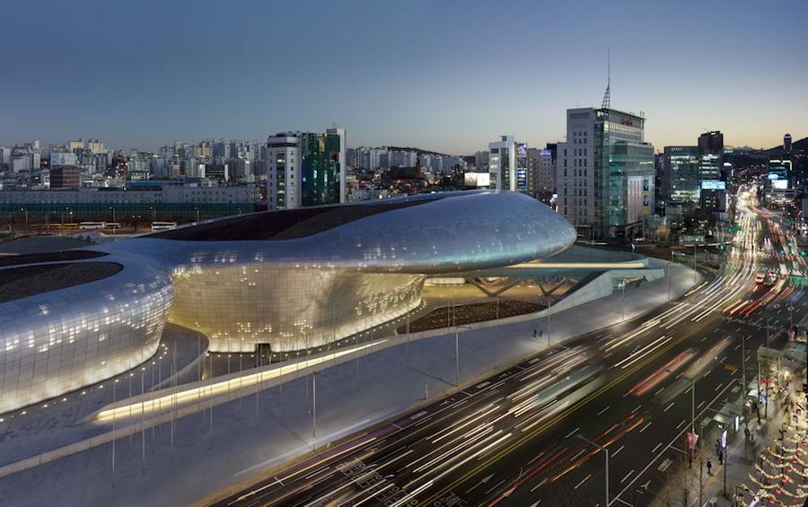 Zaha Hadid - DDP, Seoul