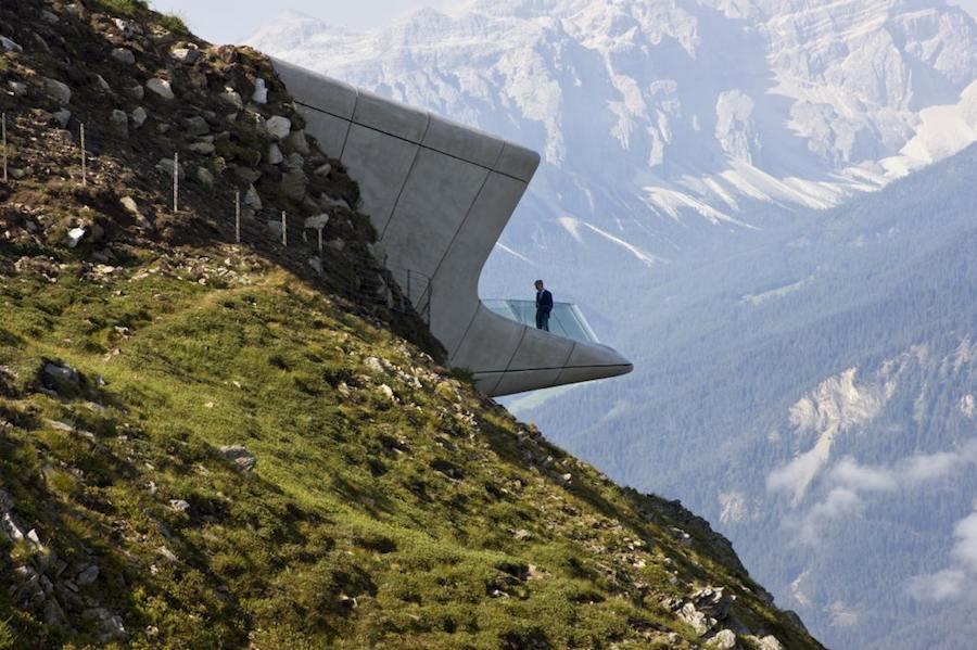 Zaha Hadid - Messner Mountain Museum Corones