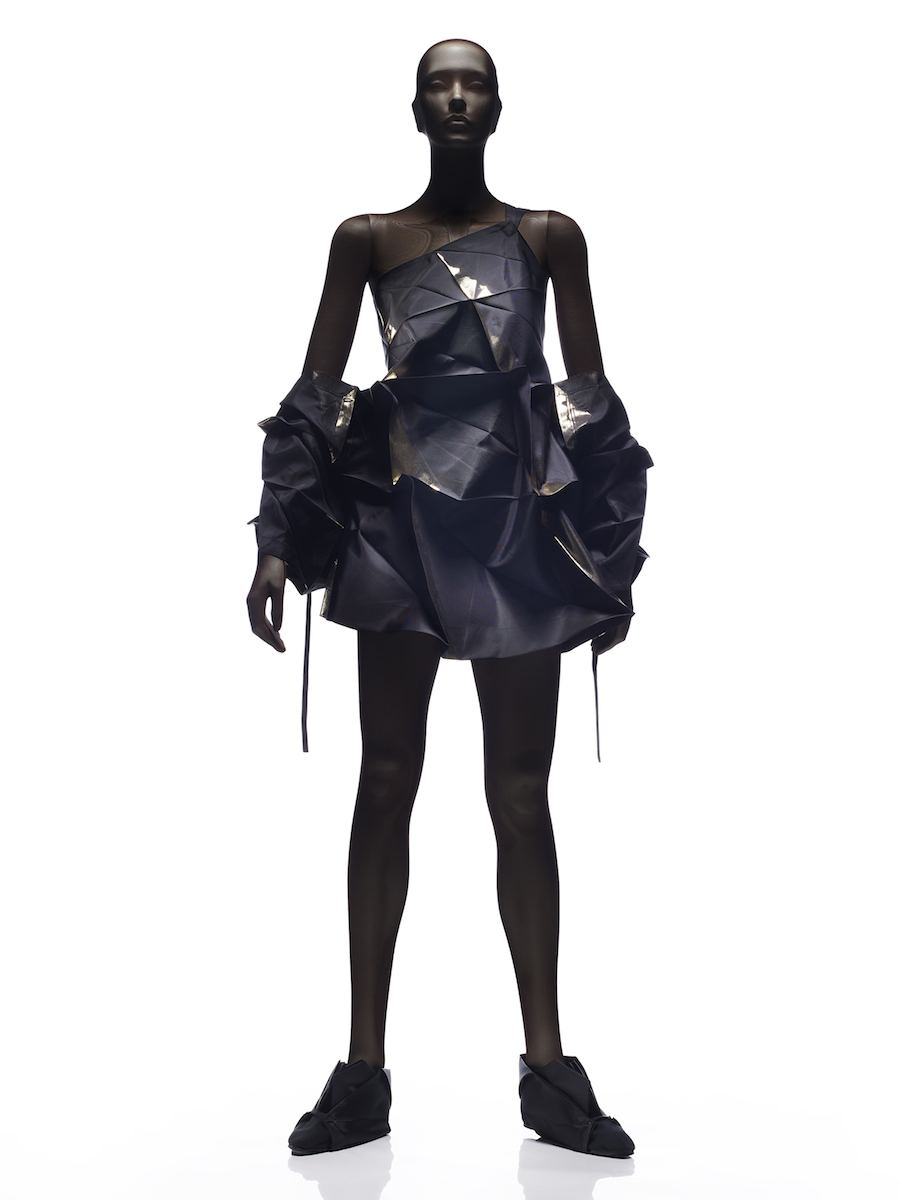 132 5 Dress, 2010, Reality Lab, Miyake Design Studio.